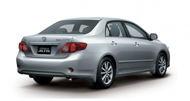 Toyota Corolla Exterior Back View