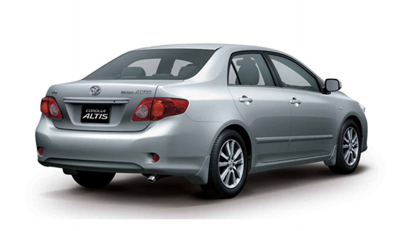 Toyota Corolla  Exterior Back View