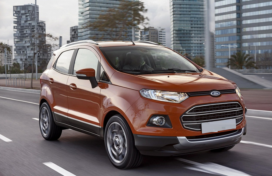 Ford EcoSport Exteriors View