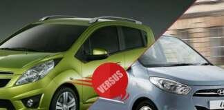 Hyundai i10 versus Chevrolet Beat