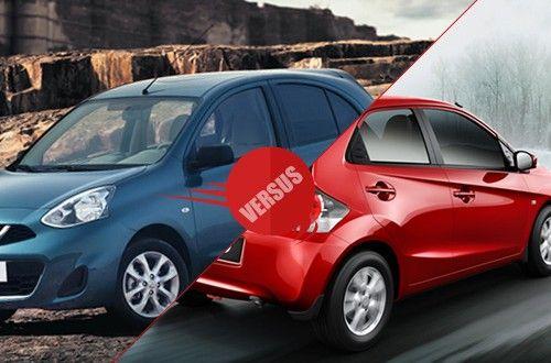 Nissan Micra Versus Honda Brio