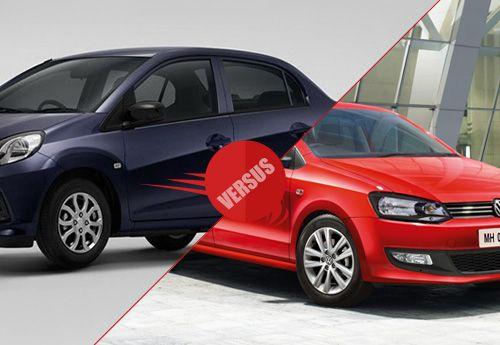 Honda Amaze Versus Volkswagen Polo