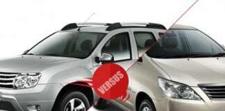 Renault Duster Vs Toyota Innova