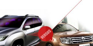 Comparison of Nissan Terrano vs Renault Duster
