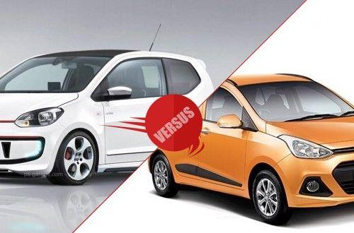 Volkswagen Up vs Hyundai Grand i10