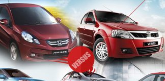 Comparison of 5 best sedan in india below 10 lac.