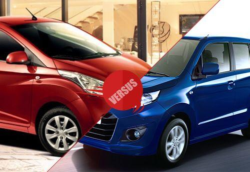 Hyundai Eon Vs Maruti Suzuki Wagonr Stingray Photos Images