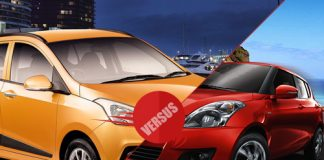 Hyundai i10 Grand versus Maruti Swift