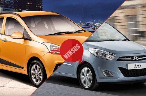 Hyundai Grand i10 versus Hyundai i10