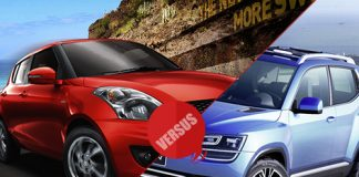 Maruti Suzuki Swift vs Volkswagen Up