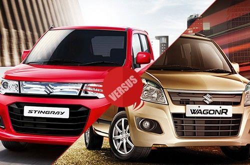 Maruti WagonR stingray versus Maruti WagonR
