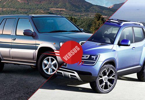 Nissan Terrano vs Volkswagen Taigun