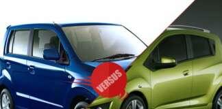 Maruti Suzuki WagonR Stingray vs Chevrolet Beat