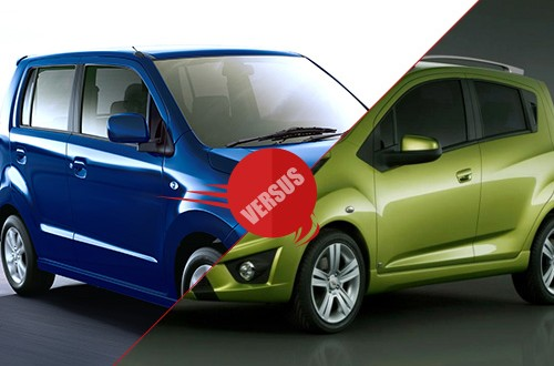 Maruti Suzuki WagonR Stingray vs Chevrolet Beat