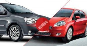 Toyota Etios vs Fiat Abarth Punto