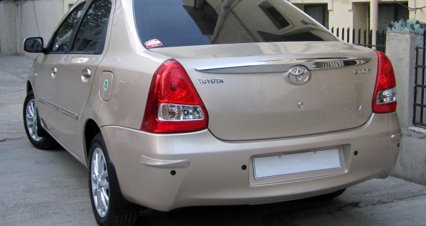 Toyota Etios Exteriors Back View