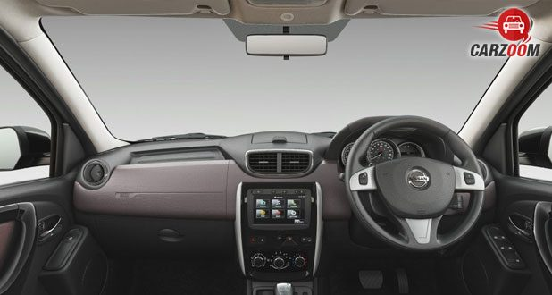 2017 Nissan Terrano dashboard