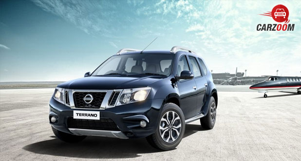 2017 Nissan Terrano front
