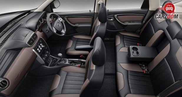 2017 Nissan Terrano interior