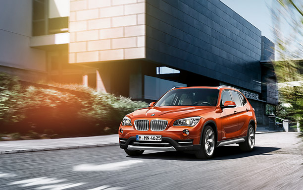 BMW X1 Exteriors Overall