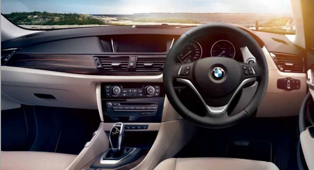BMW X1 Interiors Dashboard