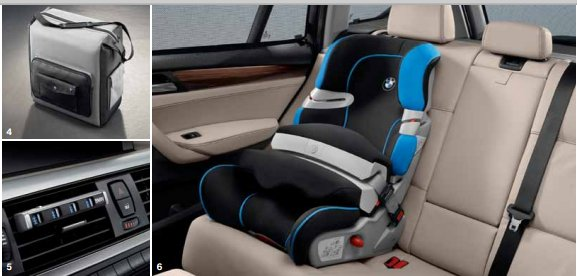 BMW X1 Interiors Seats