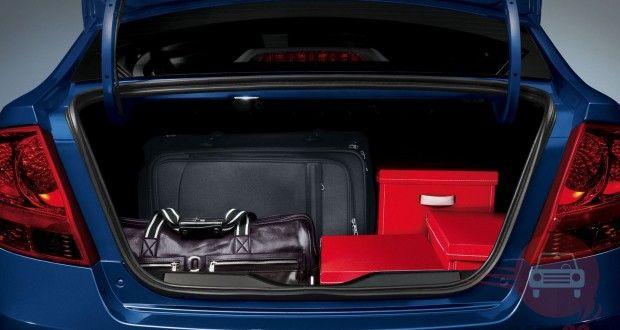 Chevrolet Sail Interiors Bootspace
