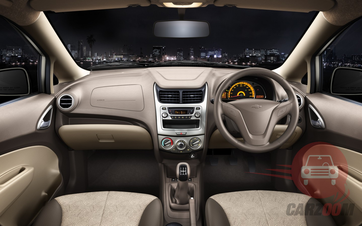 Chevrolet Sail Interiors Dashboard