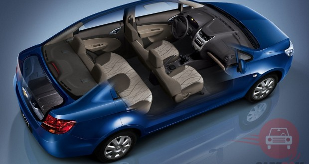 Chevrolet Sail Interiors Seats