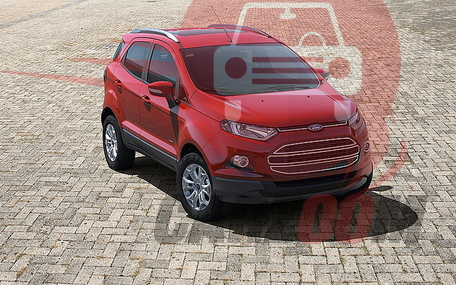 Ford EcoSport Exteriors Top View