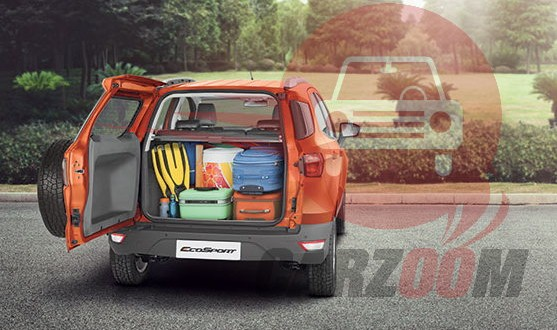 Ford EcoSport Interiors Bootspace