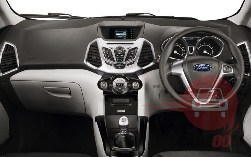 Ford EcoSport Interiors Dashboard