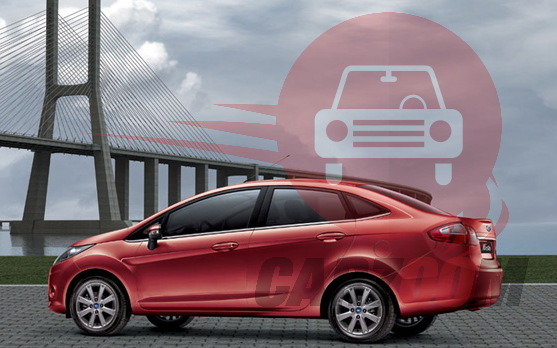 Ford Fiesta Exteriors Side View