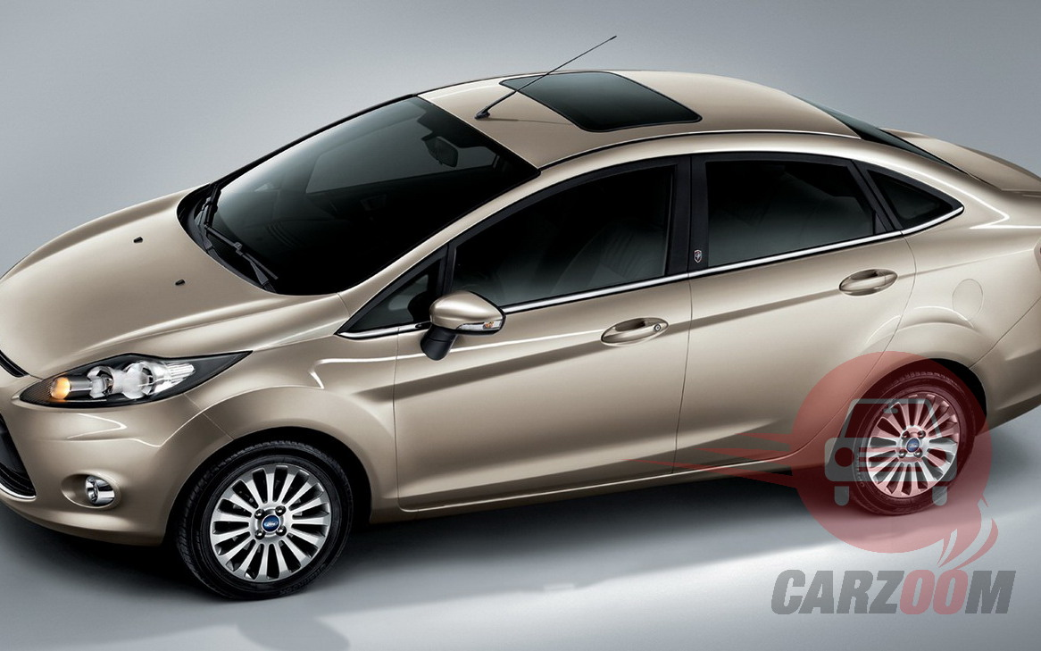 Ford Fiesta Exteriors Top View