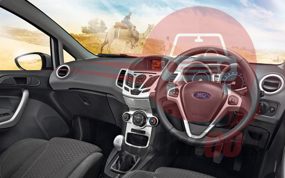 Ford Fiesta Interiors Dashboard