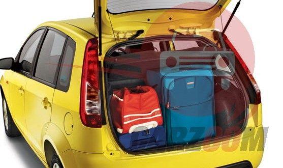 Ford Figo Interiors Bootspace