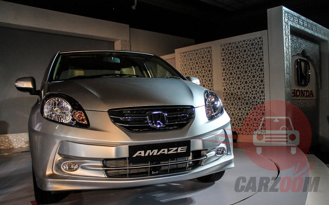 Honda Amaze Exteriors Front View