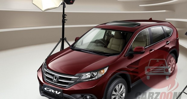 Honda CRV Exteriors Top View