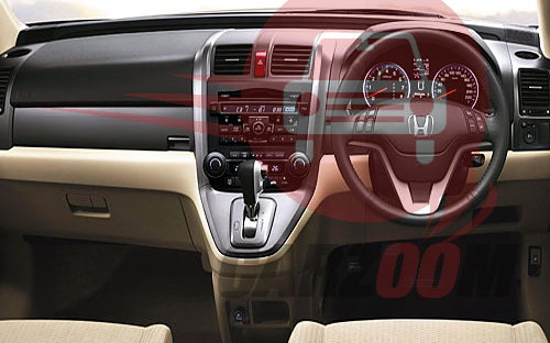Honda CRV Interiors Dashboard