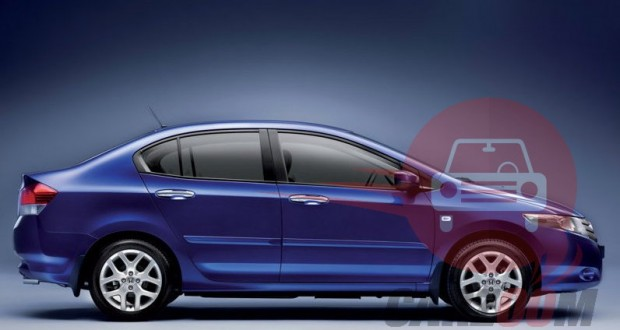 Honda City Exteriors Side View