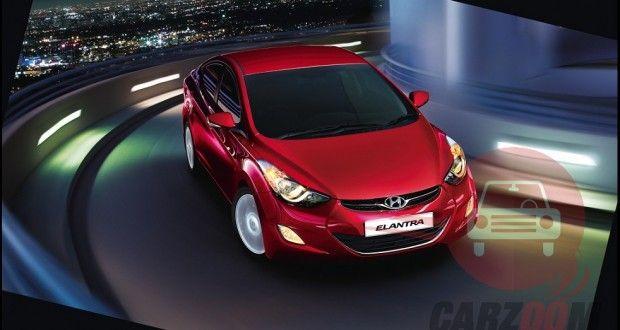 Hyundai Elantra Exteriors Front View