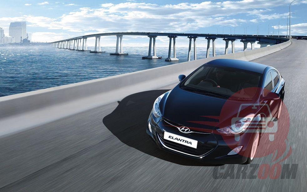 Hyundai Elantra Exteriors Top View