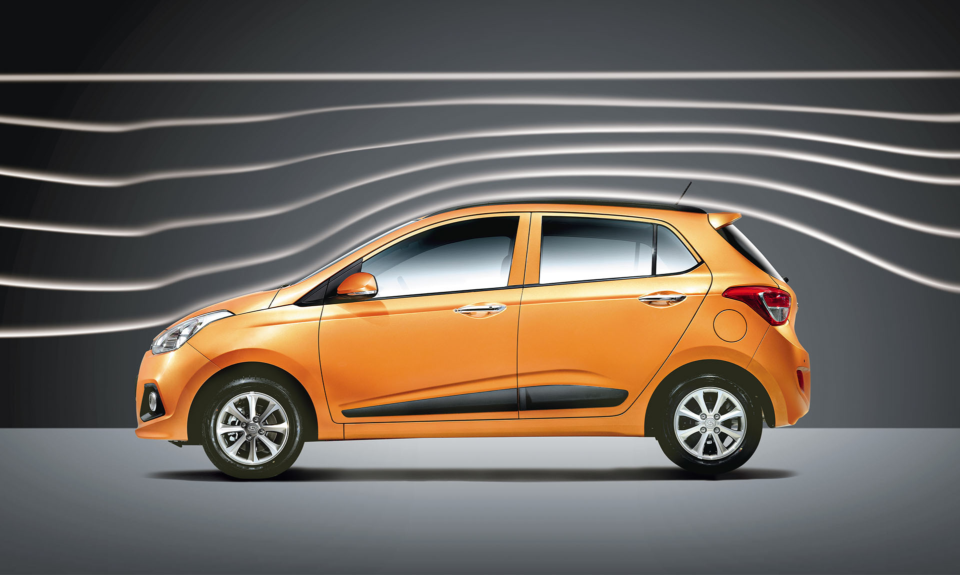 Hyundai Grand i10 Exteriors Side View