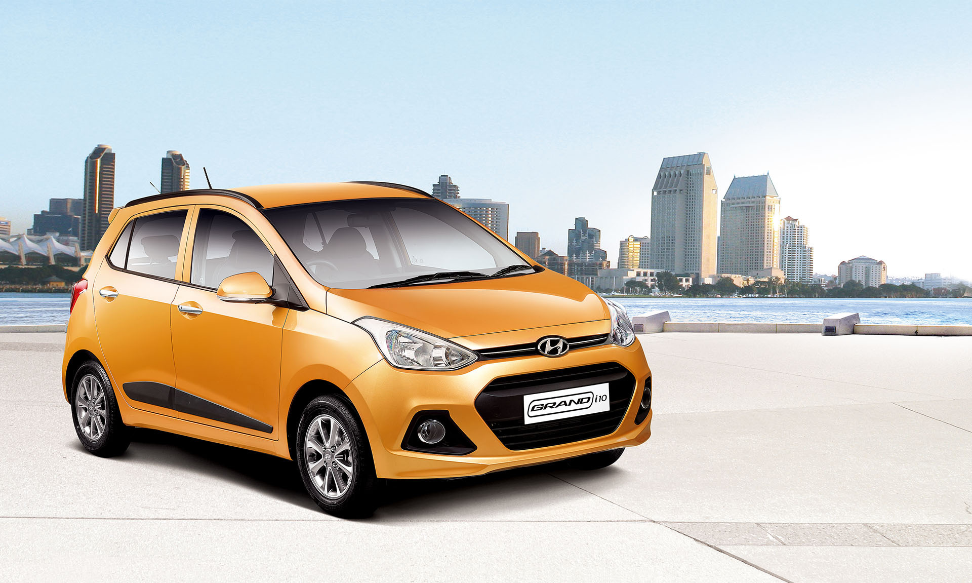 Hyundai Grand i10 Exteriors Top View