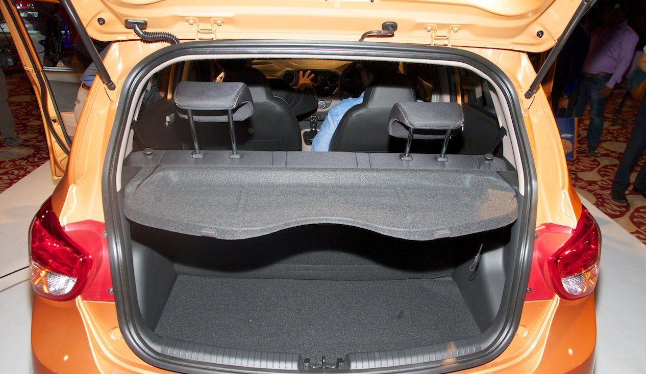 Hyundai Grand i10 Interiors Boot space