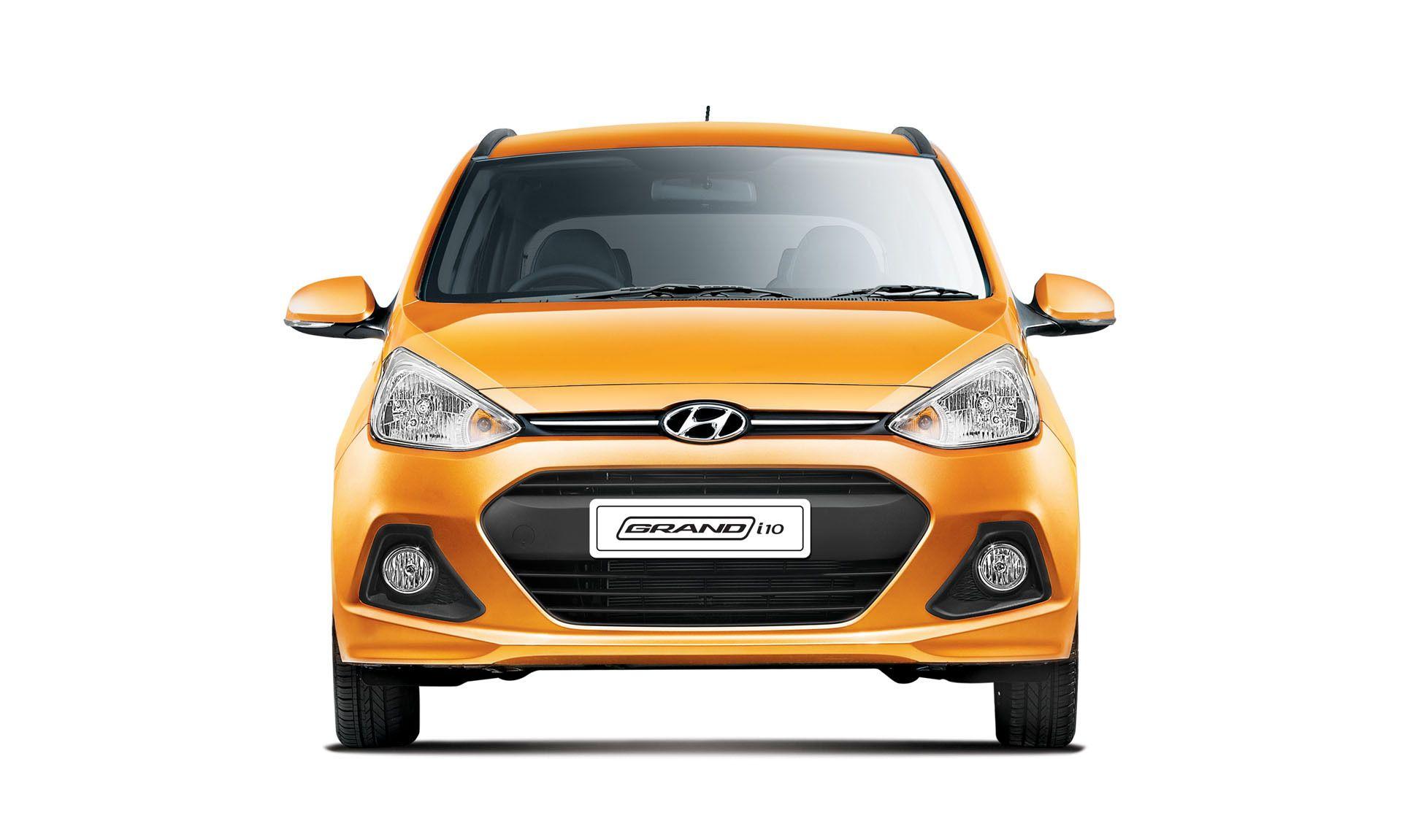 Hyundai Grand i10 Interiors Front View