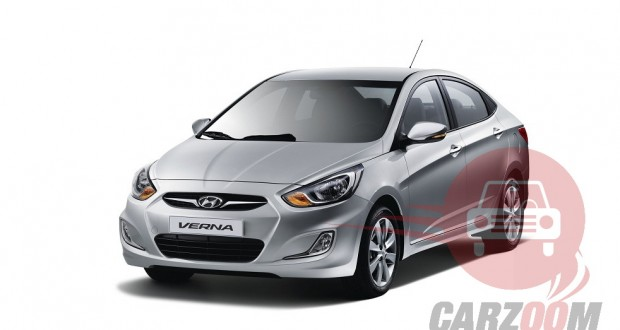 Hyundai Verna Exteriors Top View