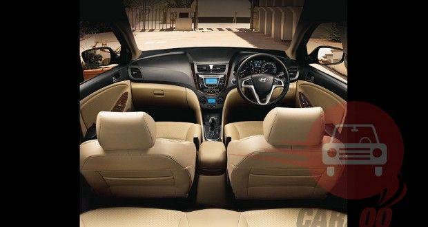 Hyundai Verna Interiors Dashboard