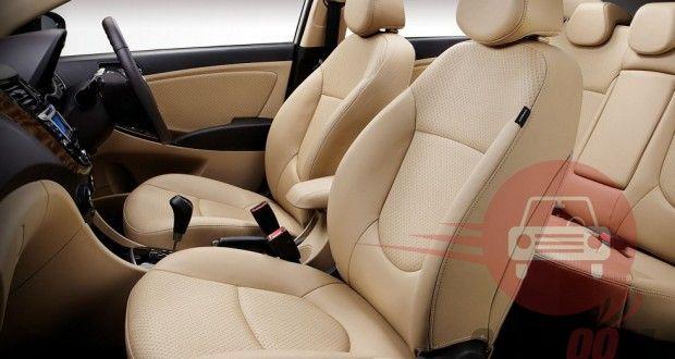 Hyundai Verna Interiors Seats