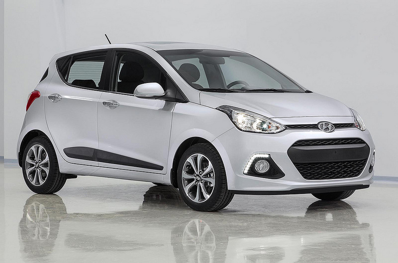 Hyundai i10 Exteriors Side View